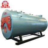 Caldera encendida diesel del petróleo del gas y de la luz de tres pasos