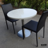 La Chine Table chaude de l'acrylique Surface solide Round Table à café
