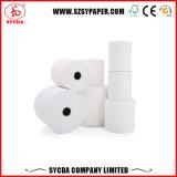 Papel termal impreso diseño 55GSM del fabricante de Shenzhen