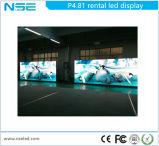 Pared video de alquiler de P4.81 LED al aire libre para los conciertos de la etapa
