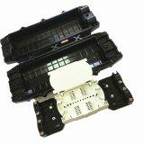 144 en línea los núcleos de tipo 4 y 4 cierres de empalme de cable de fibra óptica
