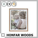 Collagen-hölzerner Effekt-Familien-Bilderrahmen für Hauptdekoration