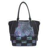 De Handtas van de Manier van de Kleur van het contrast schittert Dame Handbag