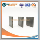 Tiras de plano de carboneto de tungstênio para torno mecânico