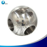 CNC que trabaja a máquina la bola forjada para las vávulas de bola