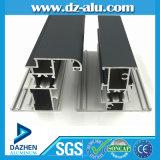 Profil en aluminium de niveau élevé pour faire le certificat de la CE de porte de guichet