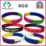 Di amore silicone per sempre/braccialetto su ordinazione del silicone per i regali di cerimonia nuziale