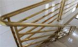 Tubos de acero de color dorado de la máquina de revestimiento PVD