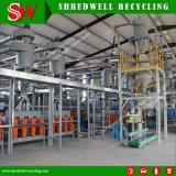 Sistema de reciclaje del neumático que destroza el desecho/la basura/viejo enteros al polvo del caucho 30-120mesh