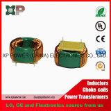 フェライト磁心のチョークコイル誘導器