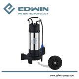 V1100df pompe submersible des eaux usées de coupe