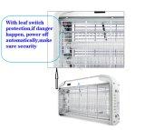 Elektrischer Programmfehler Zapper Insekt-Moskito-Steuermörder mit UVlampe 12W-40W