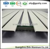 Baumaterial-Aluminiumstreifen-verschobene Decke für Innendekoration