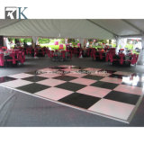 Plancher de danse de portable en bois pour la fête de mariage un revêtement de sol de l'événement