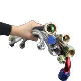 Tubo flessibile liscio automatico durevole superiore del freno del filo di acciaio dell'automobile PTFE