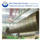 Pipe en acier soudée par spirale de grand diamètre d'api 5L pour l'agriculture