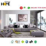 Modernes hölzernes Wohnzimmer-Möbel-Gewebe-Hauptsofa (HC613)