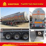 Tri-Axle 42000 litros de combustible del depósito de aceite semi remolque Trailer