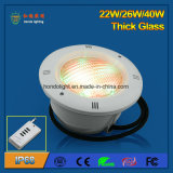 26W IP68 LED Pool-Licht für Kleber-oder Plastikswimmingpool
