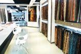 Capitonnage coloré par plaine de tissu de Chenille pour le sofa principalement
