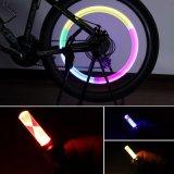 Luz do pneu dos tampões de válvula da roda do pneumático do carro da bicicleta do diodo emissor de luz