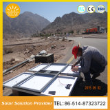 ポーランド人および電池の太陽電池パネルとの顧客用太陽LEDの軽い太陽街灯