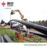 Pipe de gaz du PE 100/pipe enterrée de PE de gaz d'essence de pipe de HDPE