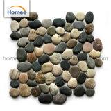 Los chips de baldosas de piedra piedra marrón Precio lavado Piedra sin pulir las piedras Mosaico de pared