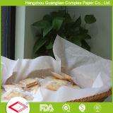 Strati di carta rivestiti di silicone di cottura ed impermeabili al grasso