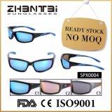 Les sports courants prêts de qualité unisexe ont reflété les lunettes de soleil (SPX0004)
