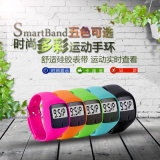 Bracelete esperto de Bluetooth, podómetro de Digitas