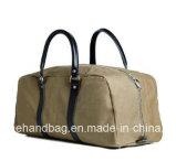 중국 제조 Foldable 여행 부대 끈달린 가방 주문 휴대용 면 화포 여행 부대