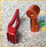 Анодированная алюминиевая повернутая заливка формы разделяет части CNC подвергая механической обработке