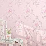 Papier de mur de PVC, Wallcovering, décor de mur, feuille de plancher de PVC, tissu de mur de PVC, papier peint de PVC