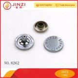Ancien logo Silver métal personnalisé gravé à plat rivet de la courroie accessoires, sac et sac à main