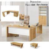 Meubles de bureau de Tableau de carton avec le bureau en bois de bureau de bibliothèque de tiroirs