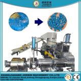 작은 알모양으로 하기 기계를 재생하는 폐기물 플라스틱