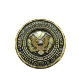 Solapa personalizada nueva embarcación, Moneda de cobre para Souvenir de regalo de la moneda