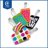 Moderne kundenspezifische Qualitäts-farbenreiche Drucken PU-Gepäck-Marke