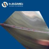 La superficie brillante de la placa de aluminio 1100 1050 1060 1070 3003