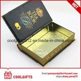 주문 도매 책 식품 포장을%s 모양 금속 주석 상자