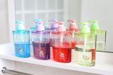 6232 سلك [درم] بلّوريّة صحّيّ بيضويّة غسول زجاجة مضخة زجاجة