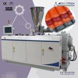PVC ASA PMMA 합성 수지 도와 밀어남 생산 라인
