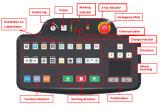 macchina SA10080B dello scanner del bagaglio del raggio del rivelatore X di obbligazione del carico 160KV e dei bagagli