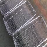 Cesto de malha de arame de aço inoxidável para filtro