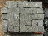 Grijze/Rode/Zwarte Cobble van het Graniet met Gehamerde Struik eindigt voor Weg/Tuin/Oprijlaan