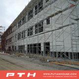 Edificio ligero prefabricado modificado para requisitos particulares de la estructura de acero del bajo costo