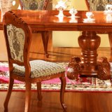 Table à manger avec chaise de salle à manger pour mobilier de maison