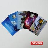 Preiswerte Cmyk Farbe Sratch weg von der Panel-Goldsilber-Stempel Belüftung-Plastikkarte