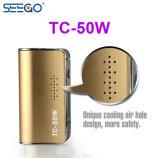 Batteria asciutta portatile del vaporizzatore Tc-50W Vape dell'erba di Seego Evod con il prezzo di fabbrica